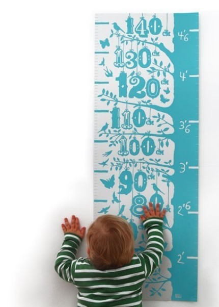 Stylish Growth Chart by Bold and Noble