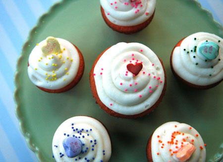 Perfect cupcakes for Valentine's Day