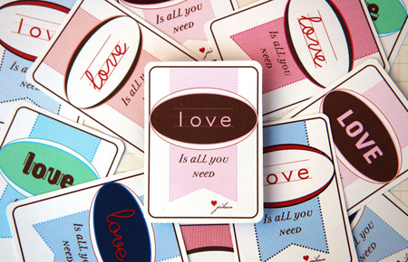 Love printable Valentine's Day cards by Bunny Cakes.