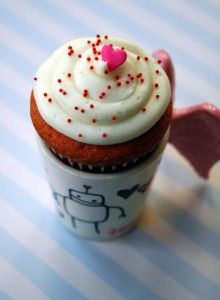 Bunny Cakes makes a luscious cupcake in a cup.