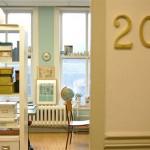 Sharilyn's studio has all my favorite colors.