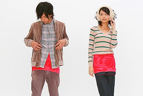 Hobonichi creates designer knit haramaki.